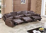 Ledersofa Kinosofa Relaxcouch Fernsehsofa 5129-Cup-3-377 sofor