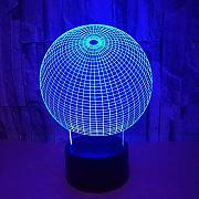 3D Ball Optical Illusions LED Lampen Tolle 7