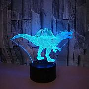3D Dinosaurier Optical Illusions LED Lampen Tolle