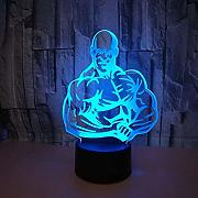 3D Fitness Optical Illusions LED Lampen Tolle 7