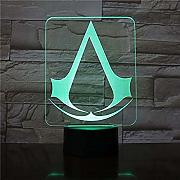 3D Illusion Lampe Assassins Creed Game Design 3D
