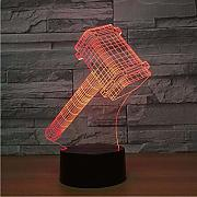 3D Illusion Lampe Galaxer 3D Illusion 3D Illusion