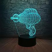 3d led lampe rgb beleuchtung 7 farbwechsel cool