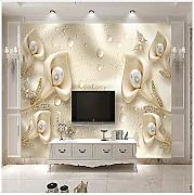 3D Mural Custom Photo Mural Wallpaper 3D Floral