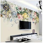 3D Mural Custom Size 3D Mural Wallpaper European