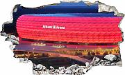 3D Wandtattoo »FCB Allianz Arena«, in 2 Größen