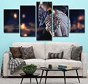 5 Panel leinwand Moderne high-Definition Druckbild