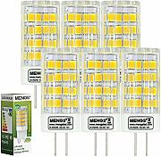 6X MENGS® G4 5W AC/DC 12V LED Lampe 51x2835 SMD