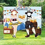 7thLake Lustige Oktoberfest Party Dekoration Foto
