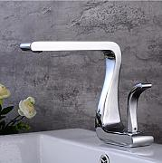 Aawang Modernes Waschbecken Design Chrom Bad
