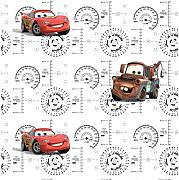 AG Design Disney Cars, Vlies-Tapete, 0,53x10,05
