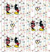 AG Design WPD 9733 Disney Mickey Mouse, Vlies-Tapete, 1 Rolle, mehrfarbig, 0,1 x 53 x 10,05 cm