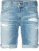 Ag Jeans - distressed design shorts - Damen -