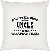 All Time Best Uncle Design Large Cushion Cover
