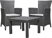 Allibert 219992 Lounge Set Rosario Balcony 2x