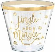 Amscan Jingle and Mingle Kunststoffbecher,