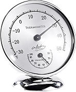 Analoges Thermometer mit Hygrometer, 10 cm