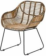 animal-design Rattan-Stuhl Korb-Stuhl Korb-Sessel