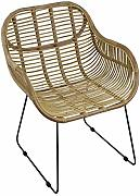 animal-design Rattanstuhl Venus Korb-Sessel -