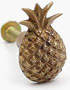 Antique Brass Pineapple Shaped Obst