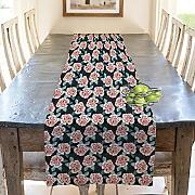 Artzfolio Beautiful Buds Table Runner Canvas