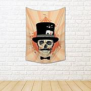 ArtzFolio Circus Design with Magician Skull Silk