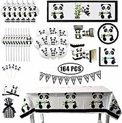 ATROPOS Panda Party Set, Panda Geburtstag