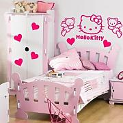Aufkleber Bay Hello Kitty Kit Wandtattoo Graphic