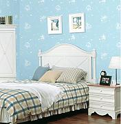 Ayzr Blue Sky White Cloud Wallpaper Cartoon Kinder