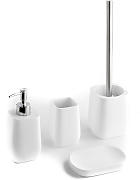 Badaccessoires-Set, 4-teilig, B20 x H37 x T18 cm TFT Home Furniture