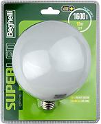 Beghelli Superled Globo LED-Lampe, E27, 16 W,