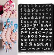 Bluelover Nagellack Stamping Template Diy Tipps