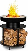 blumfeldt Wood Stock 2-in-1 Feuerschale &