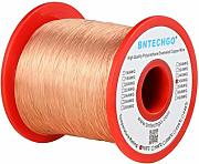 BNTECHGO 36 AWG Magnet Wire - Enameled Copper Wire