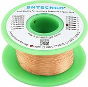 BNTECHGO 38 AWG Magnet Wire - Enameled Copper Wire