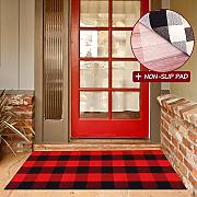 Buffalo Plaid Outdoor Teppich mit Latex