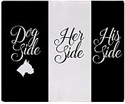 CafePress - Dog His Her Side - Weiche