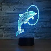 Cartoon Led-Lampe 3D Illusion Touch Nachtlicht
