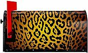 CC Decoration Briefkasten Cover,Cheetah Magnetic
