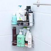 cfxdxayd Bad Regal Ecke Dusche Caddy Korb Wand