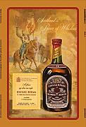 Chivas regal 12 jahre alt scotch whisky reklame