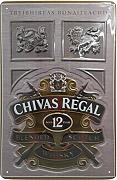 Chivas Regal Whisky Blechschild, Original Brand