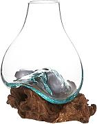 Cohasset Gifts Cohasset Glass Molten Glass & Wood,