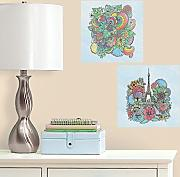 Color your Decals RMK3333CYD RM Blumen Eiffelturm