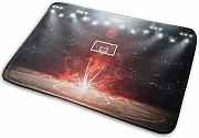 Cool Basketball Court Badematte Polyester