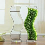 Creative bottle dekoration/paar vase/transparente