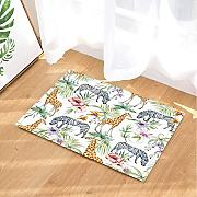 CUIMEISHEN Aquarell Palm Leaves Decor Wild Zebra