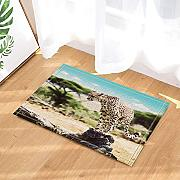 CUIMEISHEN Safari Wild Animals Decor Leopard auf