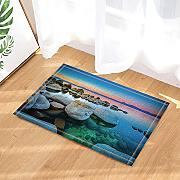 CUIMEISHEN Seaside Decor Tropical Beach Sunrise