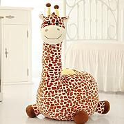 D&L Kinder Giraffe Sofa Hocker,Kreativ Cute Tiere